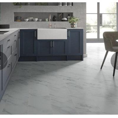 Glacier White Marble Tile