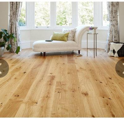 Engineered European Nature Oak Flooring 14mm x 180mm Cinnamon Grande Oiled