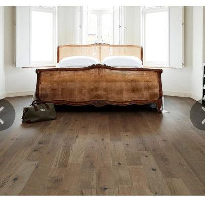 Engineered European Rustic Oak Flooring 14mm x 180mm Cocoa Oiled