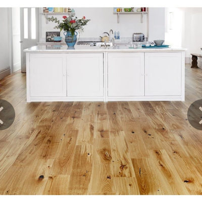 Engineered European Rustic Oak Flooring 14mm x 180mm Natural Lacquered